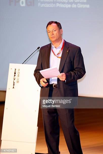 Michael LopezAlegria attends the 'Impulsa Forum 2012' at the Palau de Congresos de Girona on June 29 2012 in Girona Spain