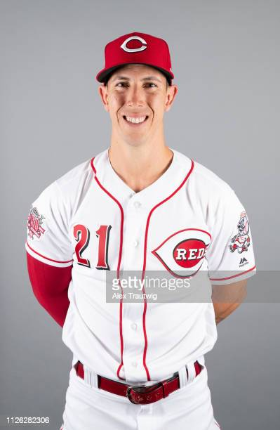 Michael Lorenzen of the Cincinnati Reds poses during Photo Day on Tuesday February 19 2019 at Goodyear Ballpark in Goodyear Arizona