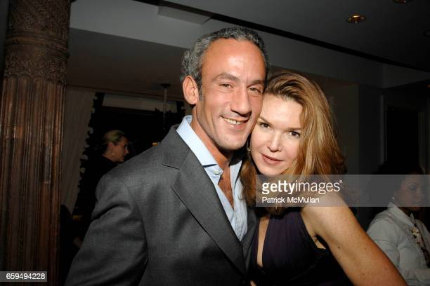Michael Los and Kimberly Robson attend OCEANA New York Launch, hosted by Alexander and Brenda von Schweickhardt, sponsored by TIFFANY & Co at Private...