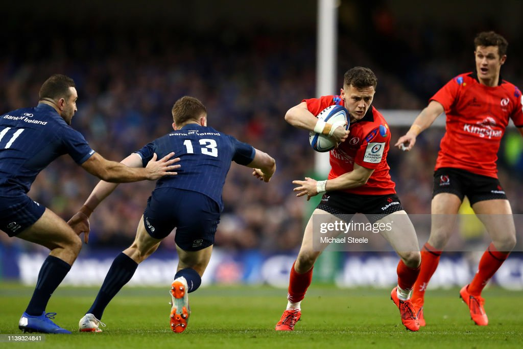 Leinster Rugby v Ulster Rugby - Heineken Champions Cup Quarter-Final : News Photo