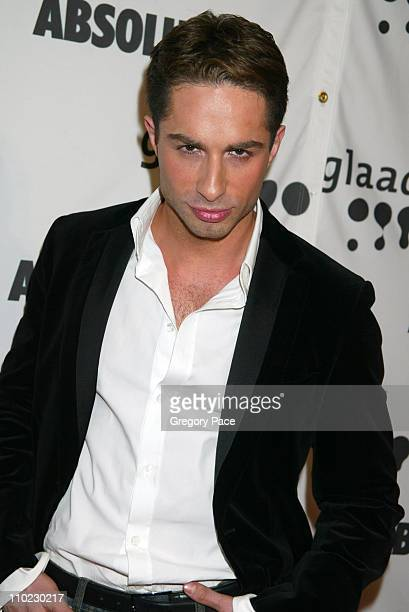 Michael Lucas during 16th Annual GLAAD Media Awards - Arrivals at Marriott Marquis in New York City, New York, United States.