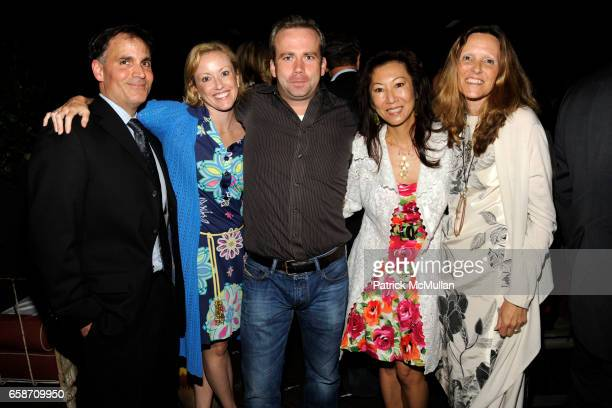 Michael Luisi Kristin Jones Guest Judy Pai and Luce Battsek attend THE CINEMA SOCIETY NOILLY PRAT host the after party for CHERI at Hudson Hotel on...