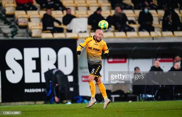 Michael Lumb of AC Horsens during the Superliga match between AC Horsens and Brøndby at CASA Arena, Horsens, Denmark on December 20, 2020.