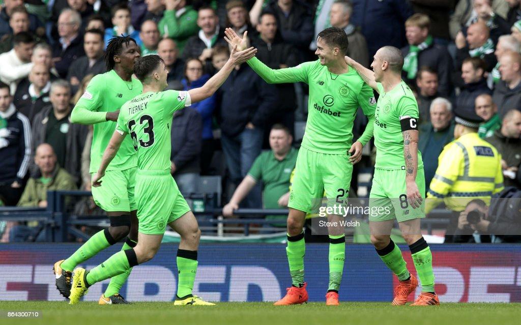 Hibernian v Celtic - Betfred League Cup Semi Final : News Photo