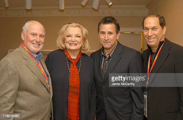 Michael Lynne CoChairman and CoCEO New Line Cinema Gena Rowlands Anthony Lapaglia and Stuart Match Suna Chairman of Hamptons International Film...