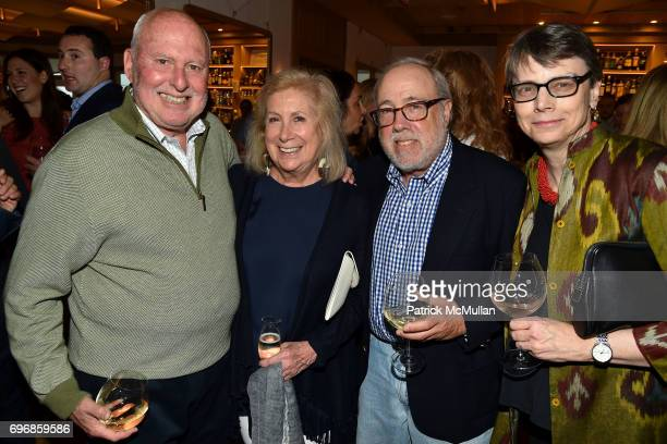 Michael Lynne Ninah Lynne Ed Hollander and Wendy Powers attend Cocktails to Learn About The Sag Harbor Cinema Project at Le Bilboquet on June 16 2017...