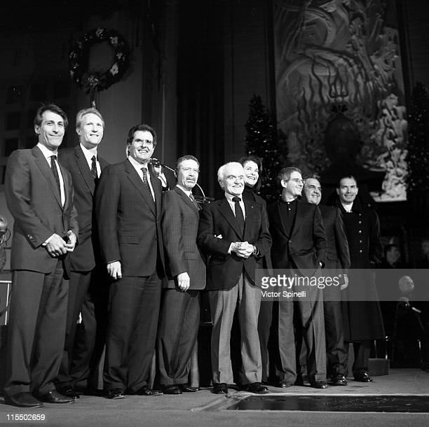 Michael Lynton CEO of Sony Pictures Chris McGurk COO of MGM Peter Chernin COO of News Corporation Johnny Grant Barry Meyer CEO of Warner Bros Jack...