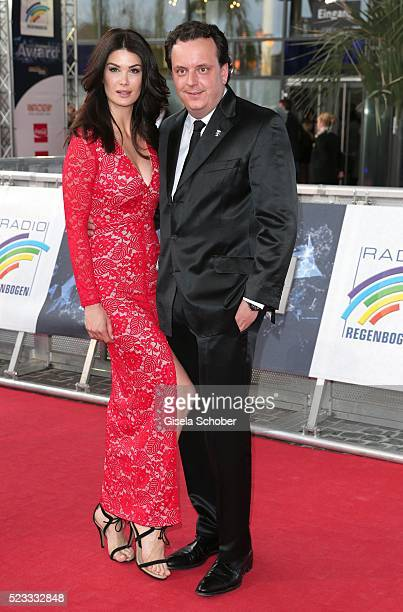 Michael Mack son of Roland Mack and his wife Miriam during the Radio Regenbogen Award 2016 at Europapark Rust on April 22 2016 in Rust Germany