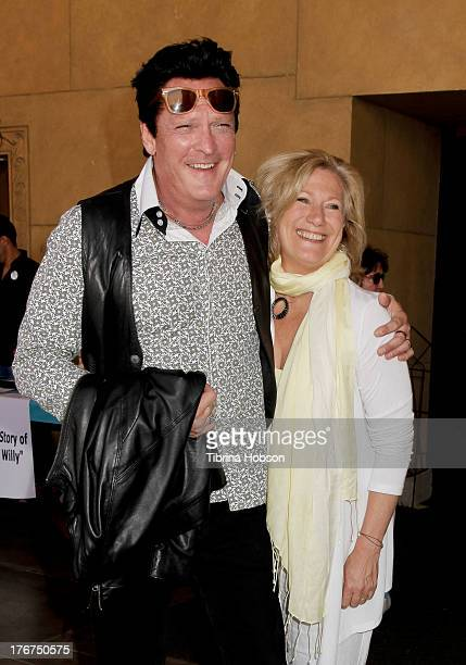 Michael Madsen and Jayne Atkinson attend the 'Free Willy' 20th anniversary celebration at the Egyptian Theatre on August 17 2013 in Hollywood...