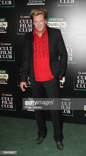 Michael Madsen attends Jameson Cult Film Club screening of 'Reservoir Dogs' as part of Jameson Dublin International Film Festival at on February 21...