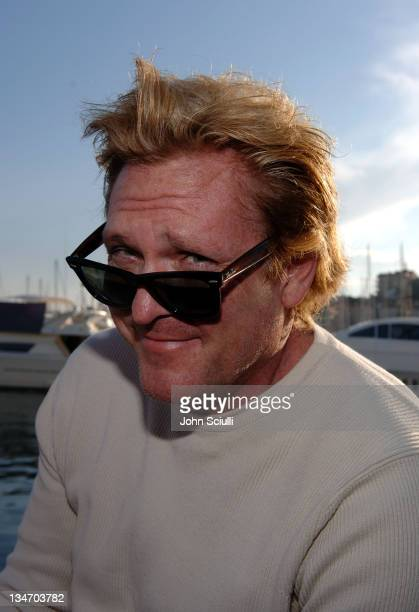 Michael Madsen during 2005 Cannes Film Festival 'The Last Drop' Cocktail Party at The Sea Lord Yacht in Cannes France
