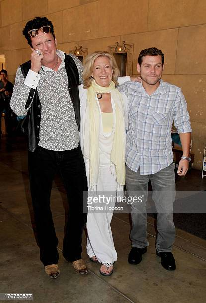 Michael Madsen Jason James Richter and Jayne Atkinson attend the 'Free Willy' 20th anniversary celebration at the Egyptian Theatre on August 17 2013...