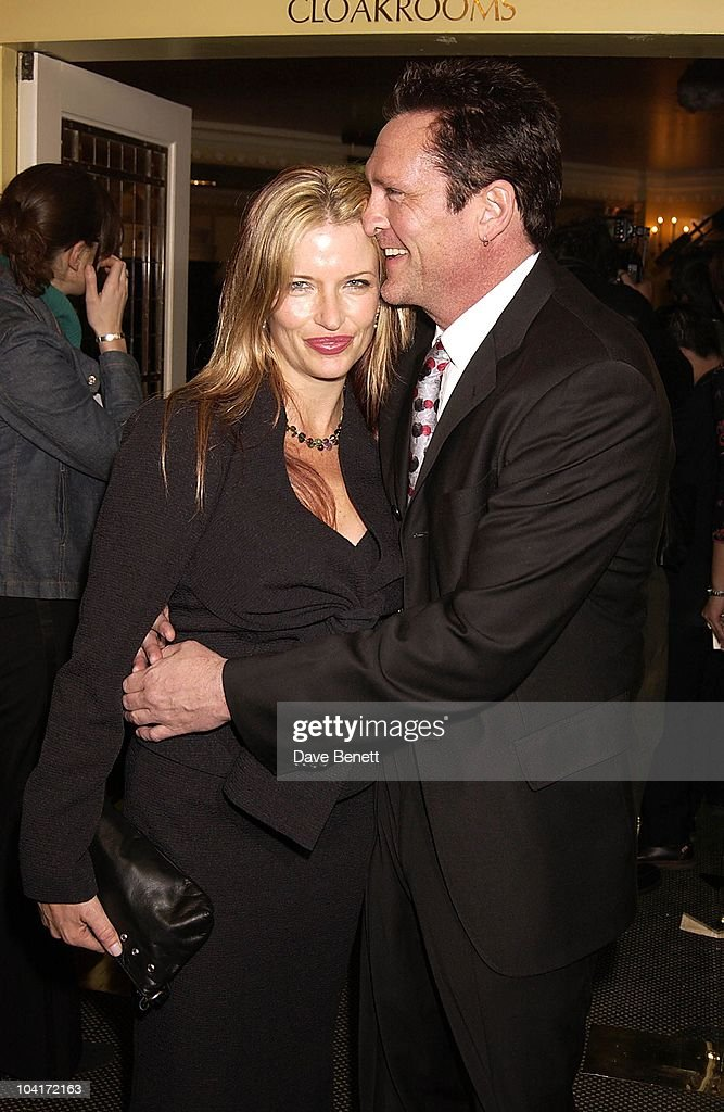 Michael Madsen & Wife, London Film Critics Circle Awards 2002, At The Dorchester Hotel, London