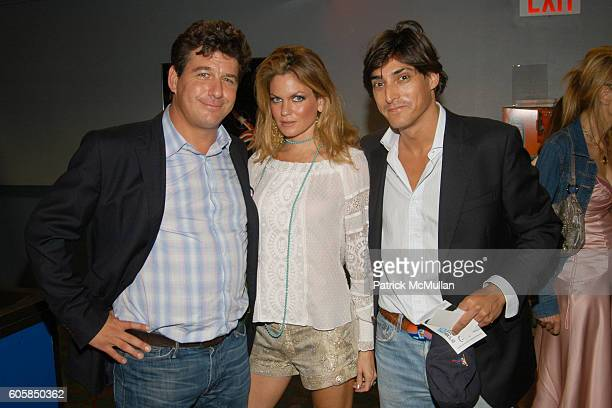 Michael Mailer Erin Lazard and Adam Shugar attend KETTLE OF FISH NYC PREMIERE at AMC Loews Village 7 on October 4 2006 in New York City