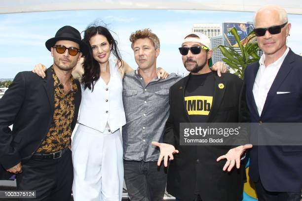 Michael Malarkey Laura Mennell Aidan Gillen Kevin Smith and Neal McDonough attend the #IMDboat At San Diego ComicCon 2018 Day Three at The IMDb Yacht...