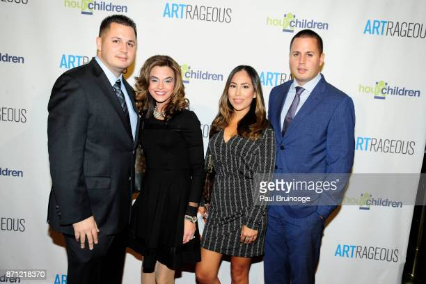 Michael Maltaghati Jackie Maltaghati Lena Lopez and Philip Maltaghati attend the Event Name ARTrageous Gala Dinner Art Auction Celebrating Hour...