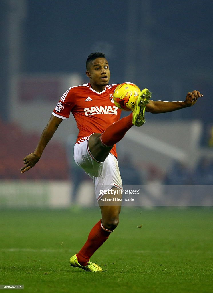 Michael Mancienne of Forest during the Sky Bet Championship match between Nottingham Forest and Brentford at the City Ground on November 5, 2014 in Nottingham, England.