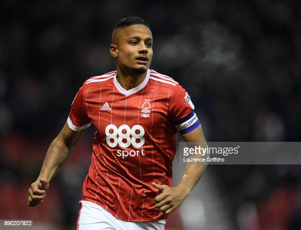 Michael Mancienne of Nottingham Foerst looks on during the Sky Bet Championship match between Nottingham Forest and Bolton Wanderers at City Ground...