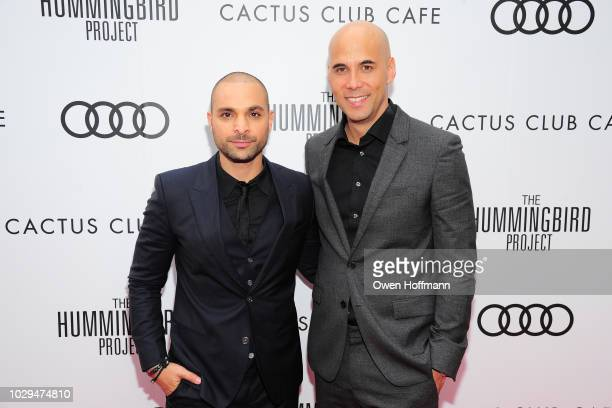 Michael Mando and Kim Nguyen attends Audi Canada And Cactus Club Host The PostScreening Event For 'The Hummingbird Project' During The Toronto...
