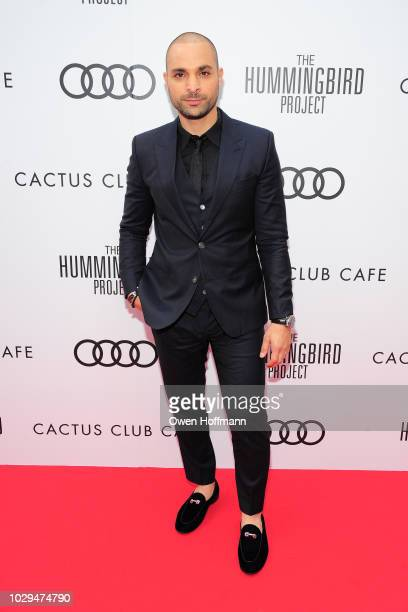 Michael Mando attends Audi Canada And Cactus Club Host The PostScreening Event For 'The Hummingbird Project' During The Toronto International Film...