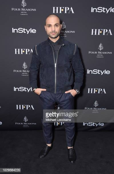 Michael Mando attends The Hollywood Foreign Press Association and InStyle Party during 2018 Toronto International Film Festival at Four Seasons Hotel...