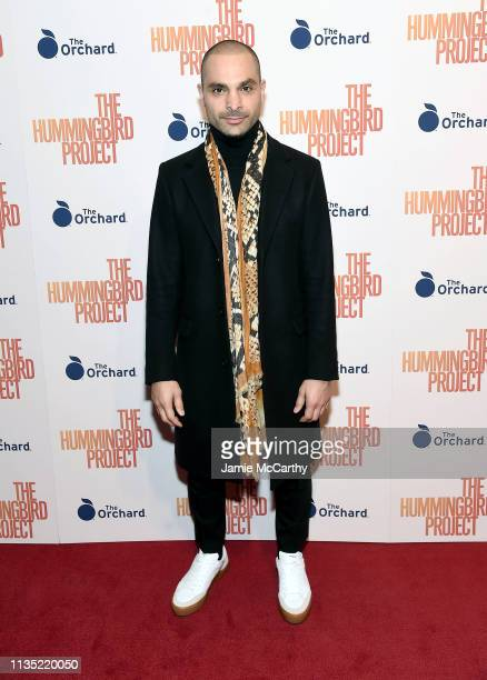 """Michael Mando attends """"The Hummingbird Project"""" New York Screening at Metrograph on March 11, 2019 in New York City."""