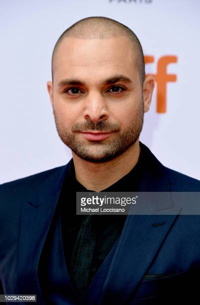 Michael Mando attends the 'The Hummingbird Project' premiere during 2018 Toronto International Film Festival at Princess of Wales Theatre on...