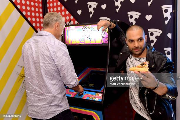Michael Mando from AMC's 'Better Call Saul' attends the Pizza Hut Lounge at 2018 ComicCon International San Diego at Andaz San Diego on July 20 2018...