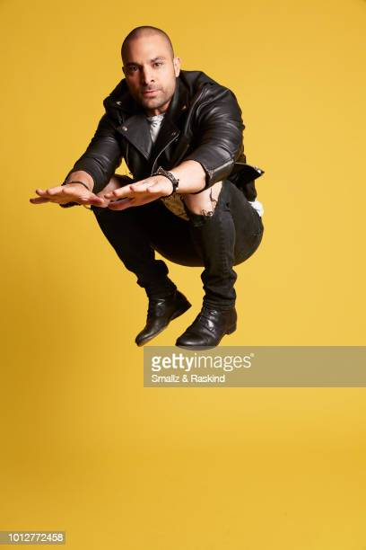 Michael Mando from 'Better Call Saul' poses for a portrait at the Getty Images Portrait Studio powered by Pizza Hut at San Diego 2018 Comic Con at...