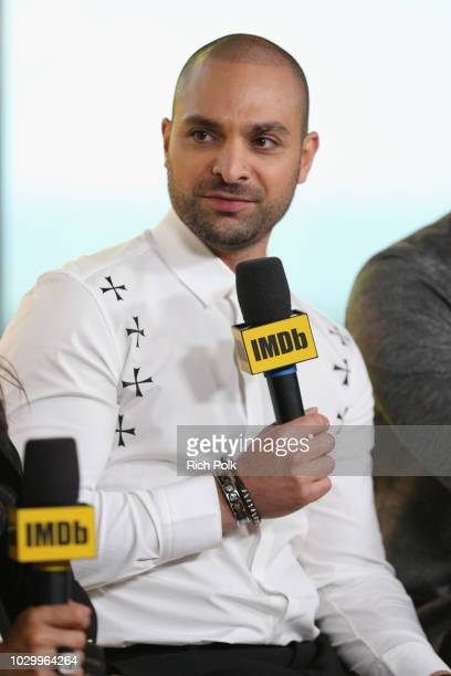 Michael Mando of 'The Hummingbird Project' attends The IMDb Studio presented By Land Rover At The 2018 Toronto International Film Festival at Bisha...