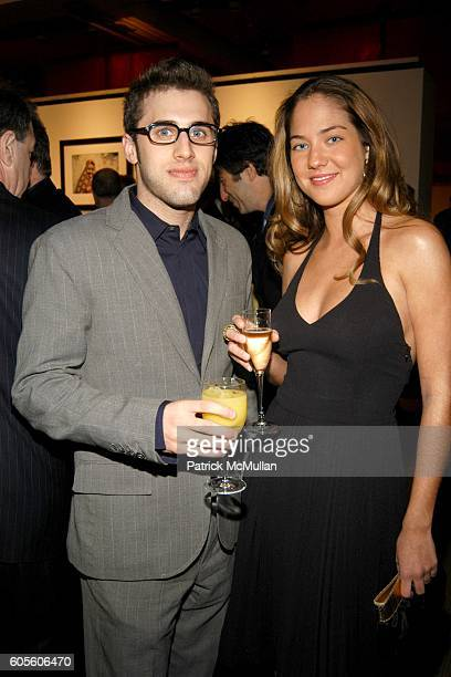 Michael Mandola and Karina CorreaMaury attend Lovestruck inspired by St Valentine at Sotheby's on February 15 2006 in New York City