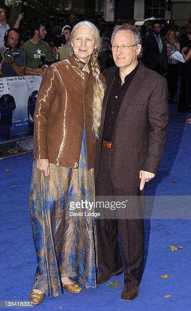 Michael Mann and Summer Mann during 'Miami Vice' London Premiere Outside Arrivals at Odeon Leicester Square in London Great Britain