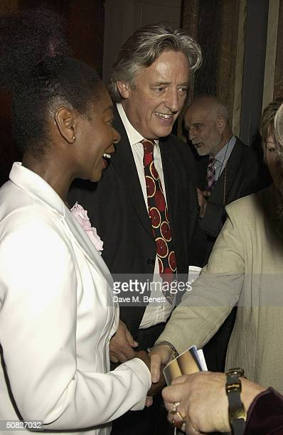 Michael Mansfield QC attends a private view for new Art Deco Icon exhibition by Russian artist Tamara de Lempicka at The Royal Academy on May 11 2004...