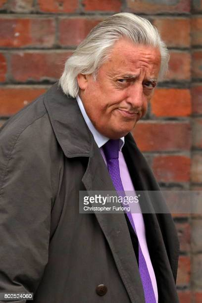 Michael Mansfield QC leaves after the families of the 96 Hillsborough victims were told the decision that the Crown Prosecution Service will proceed...
