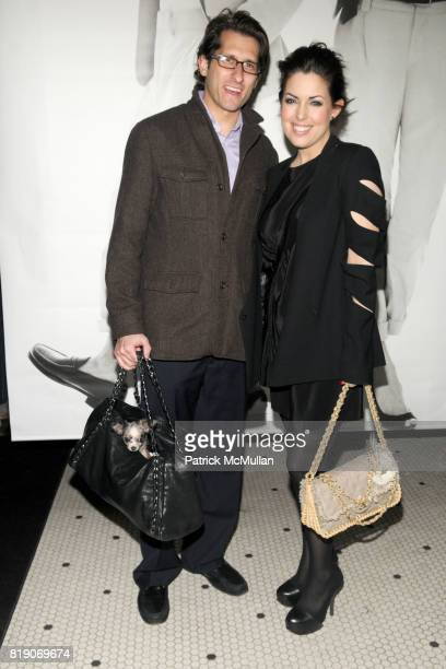 Michael Marrion and Bobbi Thomas attend CLUB MONACO Celebrates Photographer BERT STERN at Club Monaco on March 25, 2010 in New York City.