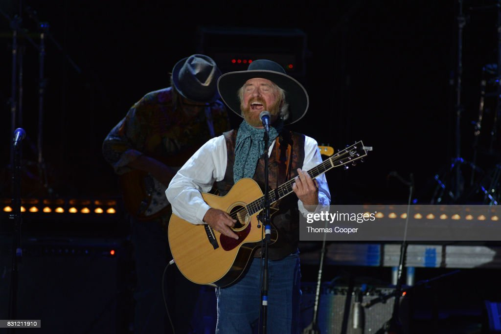Michael Martin Murphy performs during The Rocky Mountain Way honoring inductee's into the Colorado Music Hall of Fame event at Fiddler's Green Amphitheatre on August 13, 2017 in Englewood, Colorado.