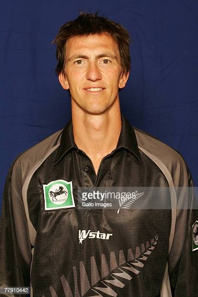 Michael Mason poses for a portrait during a New Zealand ODI Head and Shoulders Photocall held at SuperSport Park on November 14, 2007 in Centurion,...