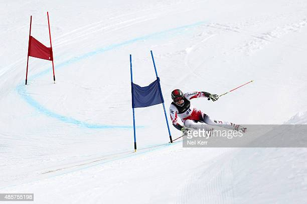 Michael Matt of Austria competes in the Alpine Giant Slalom FIS Australia New Zealand Cup during the Winter Games NZ at Coronet Peak on August 30...