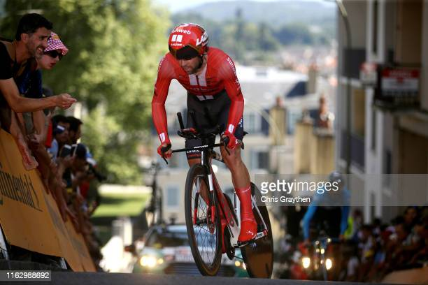 Michael Matthews of Australia and Team Sunweb / during the 106th Tour de France 2019 Stage 13 a 272km Individual Time Trial Stage from Pau to Pau /...