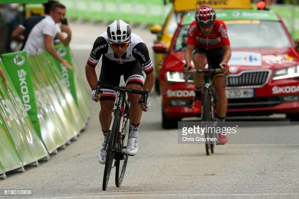 Michael Matthews of Australia riding for Team Sunweb rides in the breakaway during stage 17 of the 2017 Le Tour de France a 183km stage from La Mure...