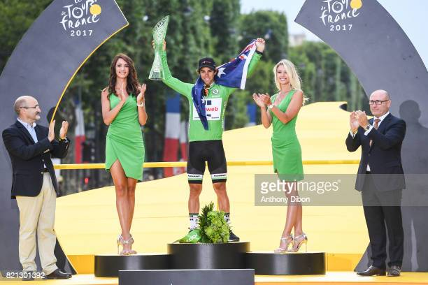 Michael Matthews of Sunweb during the stage 21 from Montgeron to Paris at Avenue Des Champs Elysees on July 23 2017 in Paris France