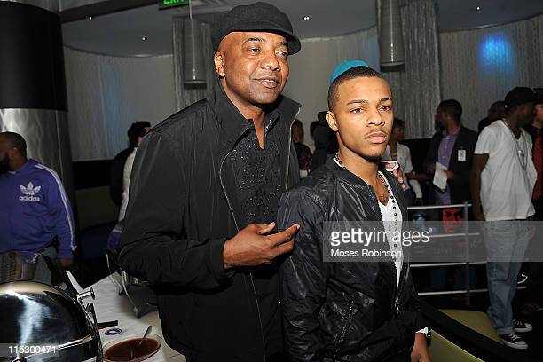 Michael Mauldin and Bow Wow attend Bow Wow FAST LIFE Album Release Party at AquaKnox Atlanta on April 2 2009 in Atlanta Georgia