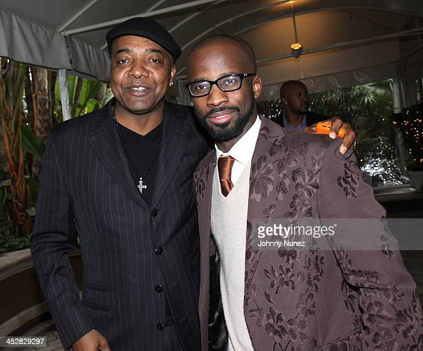 Michael Mauldin and Bryan Michael Cox attend The 5th Annual PreGrammy Brunch honoring Jermaine Dupri presented by Black Baby Inc and SESAC at the...