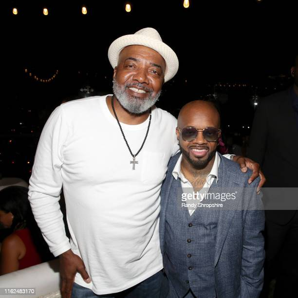 Michael Mauldin and Jermaine Dupri attend WE tv Power Influence Hip Hop The Remarkable Rise Of So So Def celebration and Season 3 of Growing Up Hip...