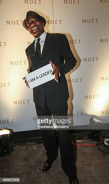 Michael Mauldin attends the executive lounge presented by Moet Chandon at STK on September 19 2014 in Atlanta Georgia
