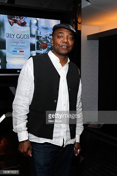Michael Mauldin president Mauldin Brand Agency attends an exclusive Power Players Dinner hosted by GREY GOOSE Cherry Noir at W Midtown Penthouse on...