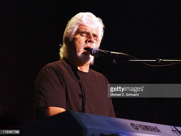 Michael McDonald during James Brown and Michael McDonald in Concert August 27 2005 at Greek Theater in Los Angeles California United States
