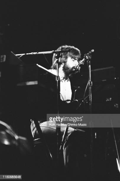 Michael McDonald of The Doobie Brothers performing on stage at Nippon Budokan Tokyo Japan February 1979