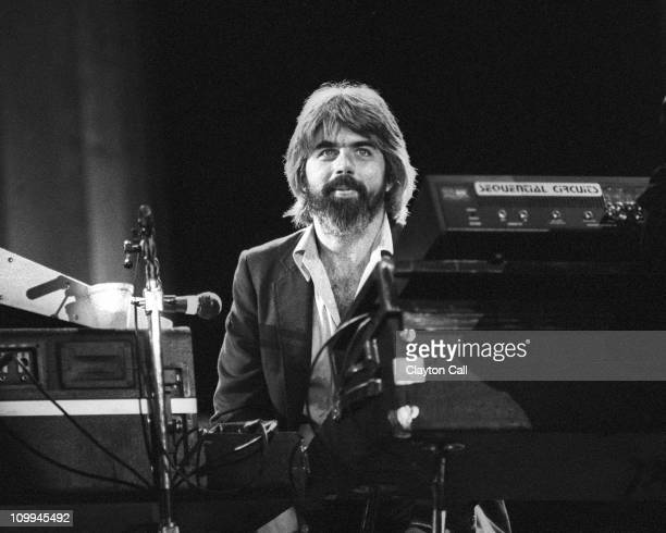Michael McDonald performs with the Doobie Brothers at the Greek Theater in Berkeley California on September 11 1982