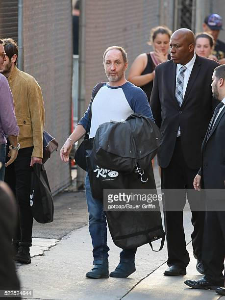 Michael McElhatton is seen at 'Jimmy Kimmel Live' on April 19 2016 in Los Angeles California